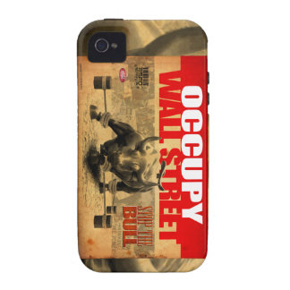 Occupy Wallstreet - Stop The Bull - Phone case Vibe iPhone 4 Cases