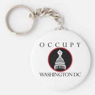 Occupy Washington DC Key Ring