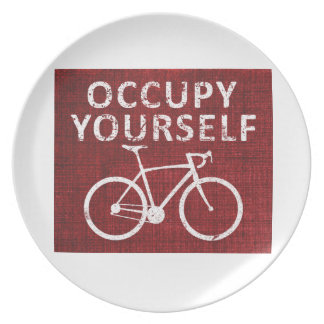Occupy Yourself Dinner Plate