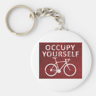 Occupy Yourself Key Ring