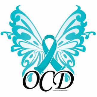 OCD Butterfly Ribbon Acrylic Cut Outs