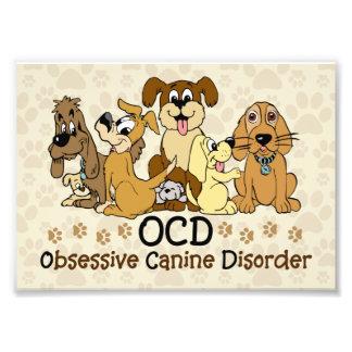 OCD Obsessive Canine Disorder Art Photo