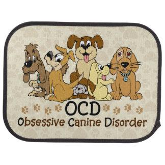 OCD Obsessive Canine Disorder Floor Mat