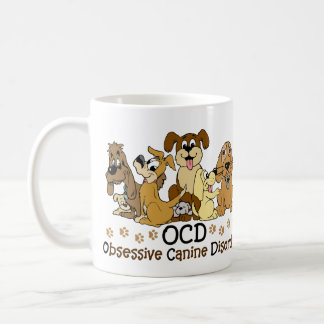 OCD Obsessive Canine Disorder Coffee Mugs