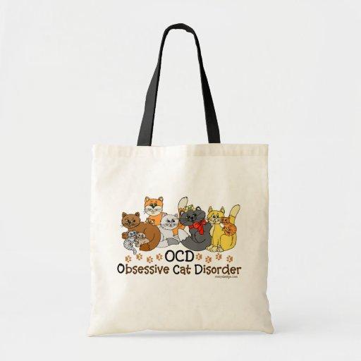 OCD Obsessive Cat Disorder Bags