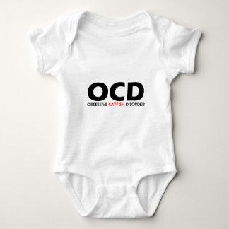 OCD - Obsessive Catfish Disorder Baby Bodysuit