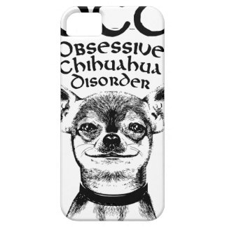 OCD obsessive chihuahua Case For The iPhone 5