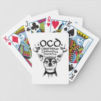 OCD obsessive chihuahua Poker Deck