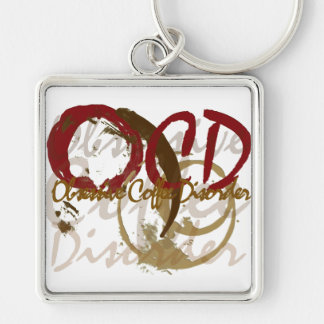 OCD - Obsessive Coffee Disorder Gifts Key Ring