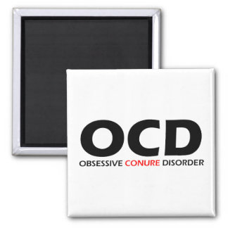 OCD - Obsessive Conure Disorder Magnet