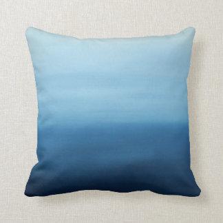Ocean Air Zen Abstract Pillow
