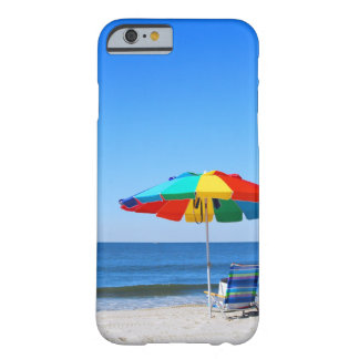 Ocean and beach scene barely there iPhone 6 case