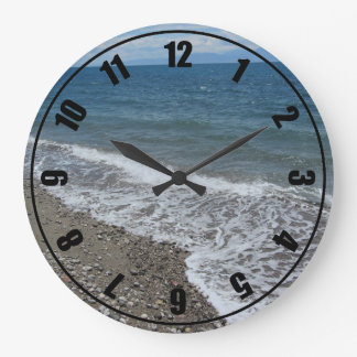 Ocean and Beach Scene Wallclock