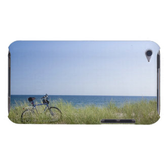 Ocean and horizon with clear blue sky iPod touch cases