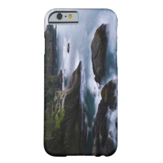 Ocean and rocky shore of remote area 2 barely there iPhone 6 case