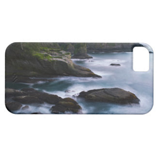 Ocean and rocky shore of remote area 2 iPhone 5 cover