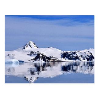 Ocean and Snow Postcard