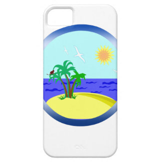Ocean and sunlight case for the iPhone 5