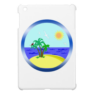Ocean and sunlight cover for the iPad mini