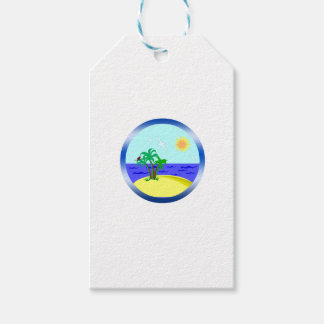 Ocean and sunlight gift tags