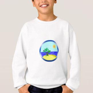 Ocean and sunlight sweatshirt