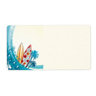Ocean and Surf Board