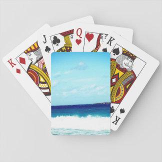 Ocean and Waves Poker Deck