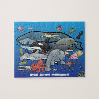 Ocean Animals - Jigsaw Puzzle