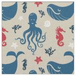 Ocean Animals | Nautical Nursery Fabric