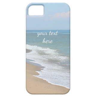 Ocean beach and waves barely there iPhone 5 case