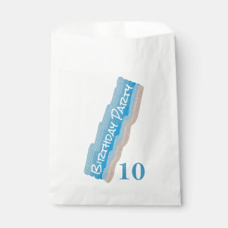 Ocean Beach Birthday Party Favour Bag