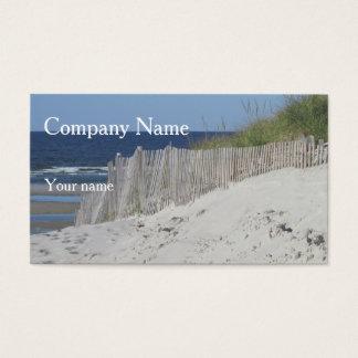 Ocean Beach Business Card