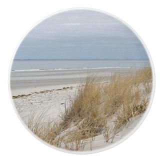 Ocean Beach on Cape Cod Ceramic Knob