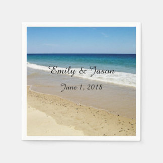 Ocean Beach Paper Serviettes