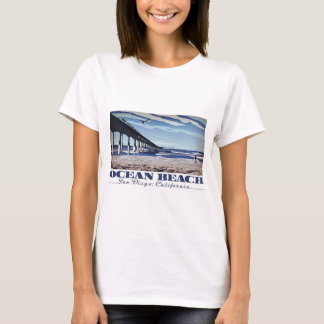 Ocean Beach, San Diego, California T-Shirt
