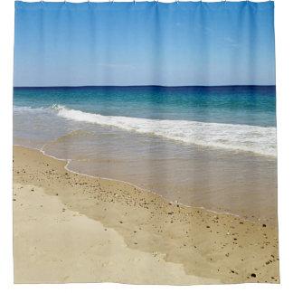 Ocean beach shower curtain