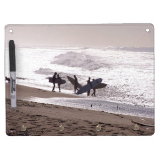 Ocean Beach Waves Surfers Surfing California Sea Dry Erase White Board