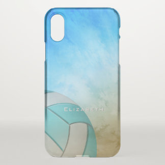 Ocean Beach Women's Volleyball personalised iPhone X Case
