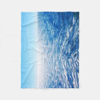 Ocean Blue Blanket