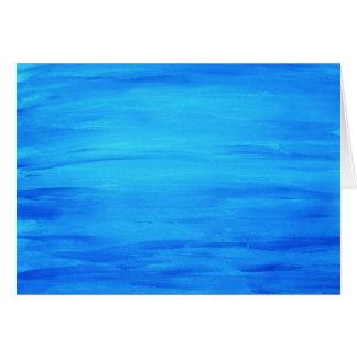 Ocean Blue Card