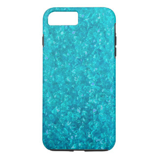 Ocean Blue Crushed Glass iPhone 7 Plus case