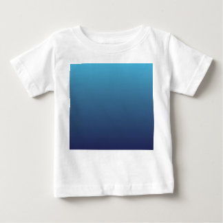Ocean blue gradient template baby T-Shirt