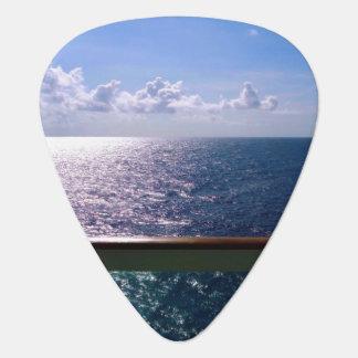 Ocean Blue Guitar Pick