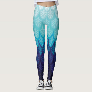 Ocean Blue Leggings