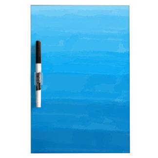 Ocean Blue Ombre Dry Erase Board