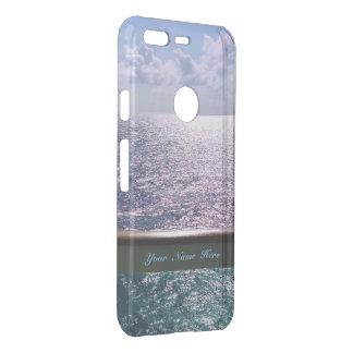 Ocean Blue Personalized Uncommon Google Pixel Case