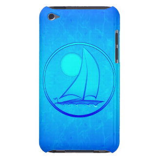 Ocean Blue Sailboat iPod Touch Case
