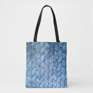 Ocean Blue Shells Tote Bag