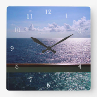 Ocean Blue Wallclocks