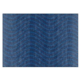 Ocean Blue Waves Pattern Cutting Boards